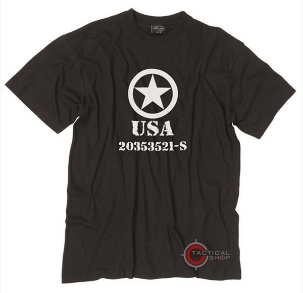 Picture of Μπλούζα Mil-Tec T-shirt Allied Star Μαύρη