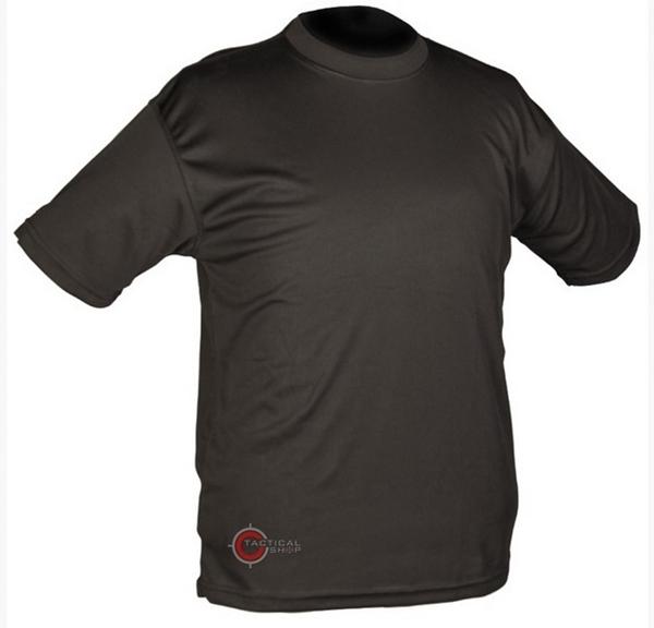 Picture of Μπλουζάκι T-Shirt Αντιιδρωτικό Mil-Tec QuickDry Μαύρο