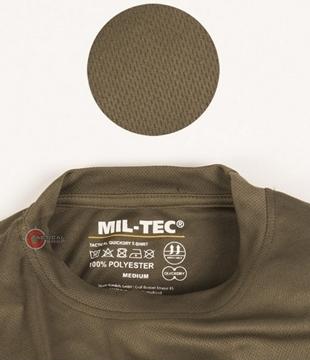 Εικόνα της Μπλουζάκι T-Shirt Αντιιδρωτικό Mil-Tec QuickDry Γκρι