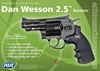 "Picture of Airsoft Περίστροφο Αμπούλας CO2 Dan Wesson 2,5"" Βlack"