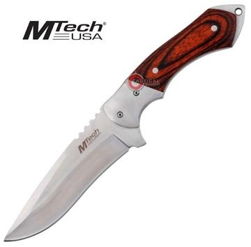 Εικόνα της Μαχαίρι Mtech Hunter Wood Handle Knife