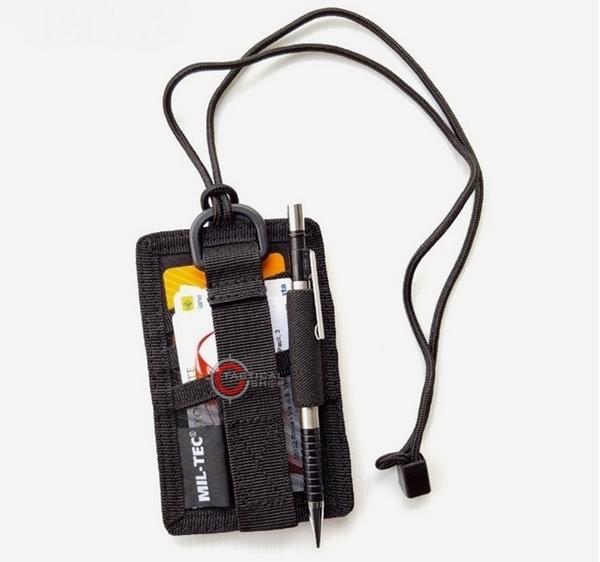 Picture of Θήκη Ταυτότητας Mil-Tec ID Card Case Μαύρο