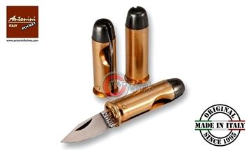 Εικόνα της Σουγιάς Τσέπης Antonini Bullet Knife 44 Magnum