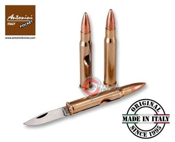 Εικόνα της Σουγιάς Τσέπης Antonini Bullet Knife 30-06