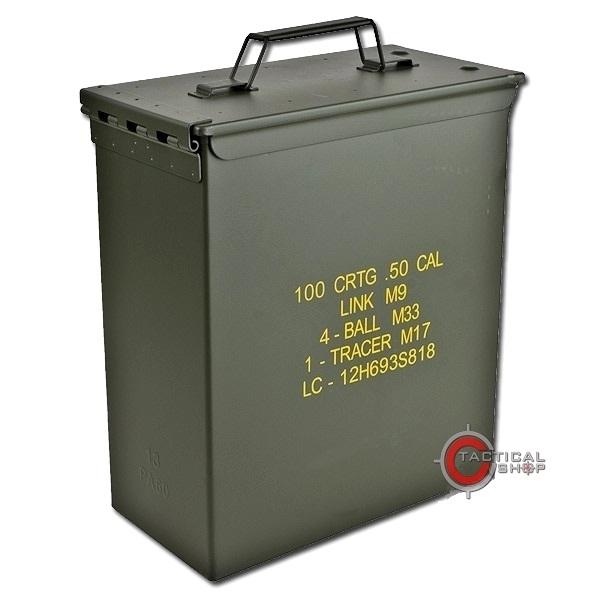 Picture of Μεταλλικό Κουτί Στεγανό Αποθήκευσης US M9 Cal.50 Large