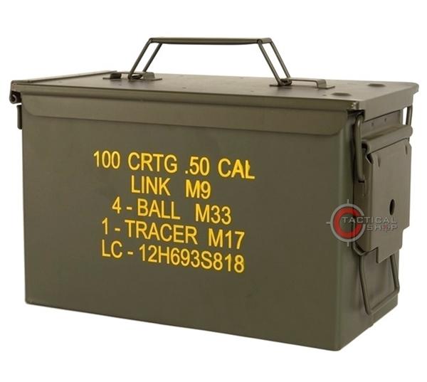 Picture of Μεταλλικό Κουτί Στεγανό Αποθήκευσης US M2A1 CAL.50