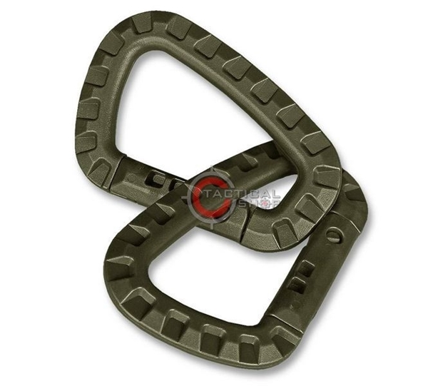 Picture of Carabiner Mil-Tec ABS Λαδί