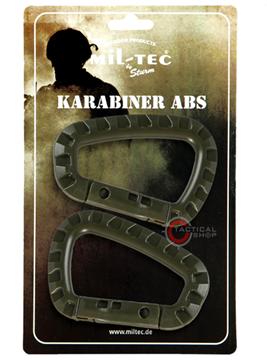 Εικόνα της Carabiner Mil-Tec ABS Λαδί