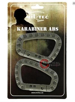 Εικόνα της Carabiner Mil-Tec ABS Γκρι