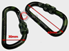 Picture of Tactical Carabiner Mil-Tec Αλουμινίου 60mm