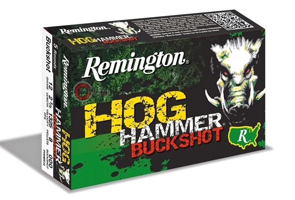 Picture of Φυσίγγια Δράμια Επιχαλκωμένα 8βολα Remington Hog Hammer Buckshot