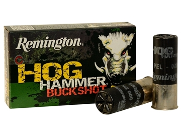 Εικόνα της Φυσίγγια Δράμια Επιχαλκωμένα 8βολα Remington Hog Hammer Buckshot
