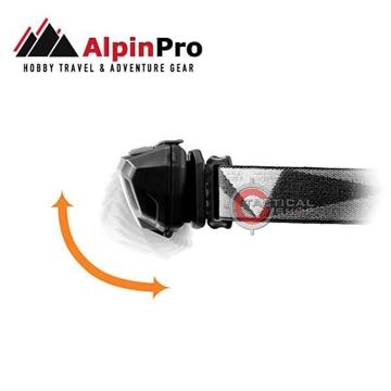 Εικόνα της Αlpin φακός κεφαλής HL-04IR led 230 Lumens με αισθητήρα κίνησης