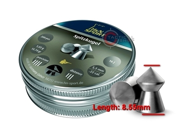 Εικόνα της Βληματάκια H&N Sport Spitzkugel 5.5mm
