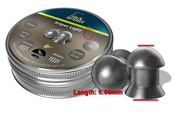 Εικόνα της Βληματάκια H&N Sport Sniper Light 5.5mm