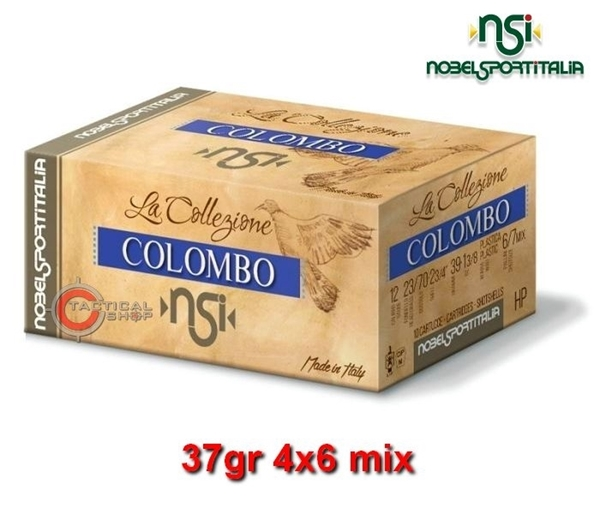 Picture of Φυσίγγια 37gr NSI Special Collection Colombo Φάσα 4x6 mix