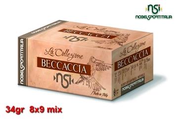 Εικόνα της Φυσίγγια 34gr NSI Special Collection Beccaccia Μπεκάτσα 8x9 mix