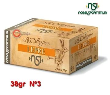 Εικόνα της Φυσίγγια 38gr NSI Special Collection Lepre Λαγός Νº3