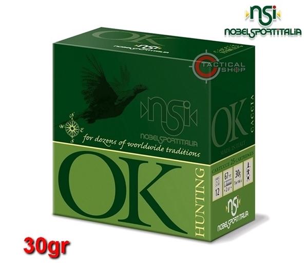 Picture of Φυσίγγια 30gr NSI OK