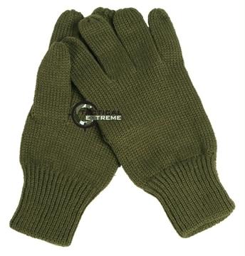 Εικόνα της Γάντια Πλεκτά Στρατιωτικά Λαδί