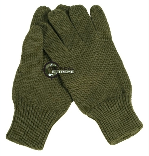 Picture of Γάντια Πλεκτά Στρατιωτικά Λαδί