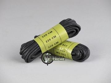 Εικόνα της Κορδόνια Αρβύλων Mil-Tec Μαύρα 220 cm