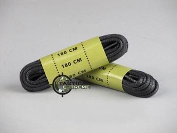 Εικόνα της Κορδόνια Αρβύλων Mil-Tec Μαύρα 180 cm