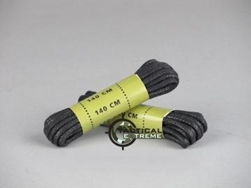 Εικόνα της Κορδόνια Αρβύλων Mil-Tec Μαύρα 140 cm