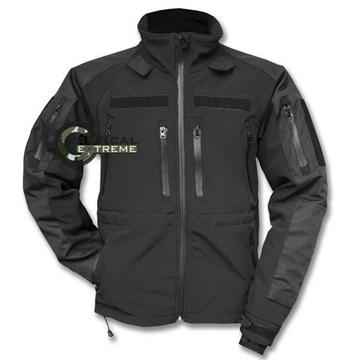 Εικόνα της Αδιάβροχο Soft Shell Professional Jacket Mil-Tec Μαύρο