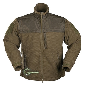 Εικόνα της Fleece Jacket Hextac Elite Mil-Tec Χακί