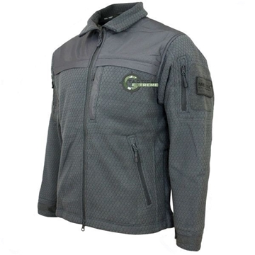 Εικόνα της Fleece Jacket Hextac Elite Mil-Tec Γκρι