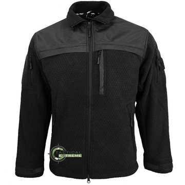 Εικόνα της Fleece Jacket Hextac Elite Mil-Tec Μαύρο