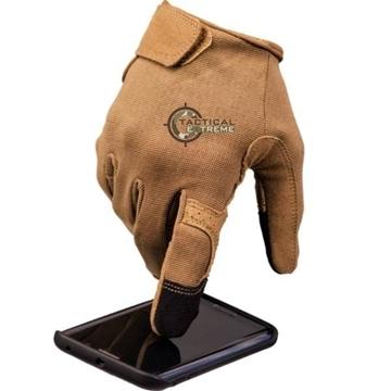 Εικόνα της Γάντια Mil-tec Tactical Touch Μπεζ Ερήμου