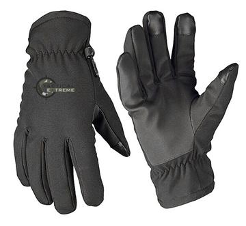 Εικόνα της Γάντια Mil-Tec Softshell με επένδυση Thinsulate Μαύρα