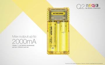 Εικόνα της Φορτιστής Nitecore Q2 Quick charger Μαύρος