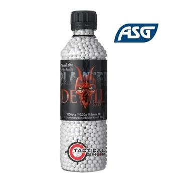 Εικόνα της Μπίλιες Airsoft Blaster Devil 6mm 0,30 γρ 3000pcs bottle