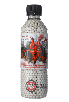 Εικόνα της Μπίλιες Airsoft Blaster Devil 6mm 0,25 gr 3000pcs bottle