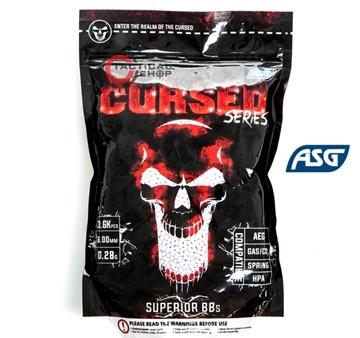 Εικόνα της Μπίλιες Airsoft Cursed 6mm 0,28gr 3600pcs bag