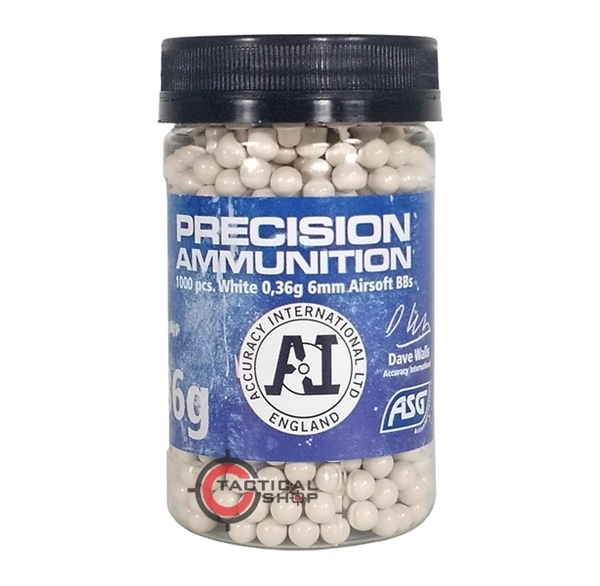 Picture of Μπίλιες Airsoft Precision Heavy 0,36 gram 6mm BBs 1000 pcs