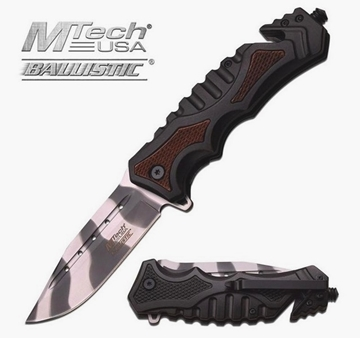 Εικόνα της Σουγιάς MTech Resque Ballistic Tactical Knife Urban Camo