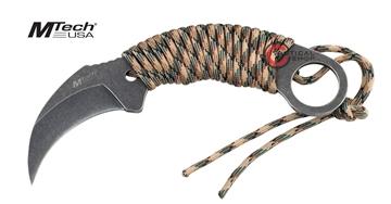 Εικόνα της Μαχαίρι karambit Mtech knife Camo Paracord