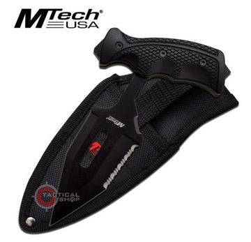 Εικόνα της MTech Push Dagger Hard Rubber Handle