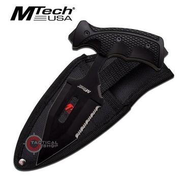 Εικόνα της MTech Push Dagger Hard Rubber Handle