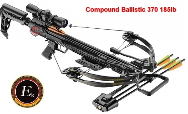 Picture of Βαλλίστρα Compound Ballistic 370 185lb with scope 4X32