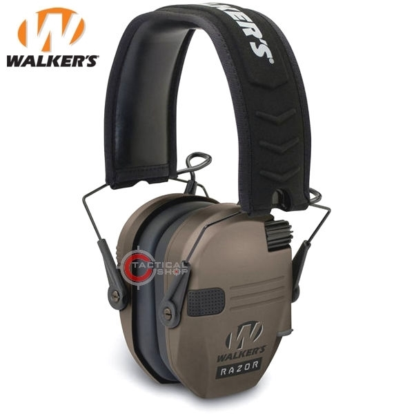 Picture of Ωτοασπίδες Χαμηλού Προφίλ Walkers Razor Slim Electronic Dark Earth