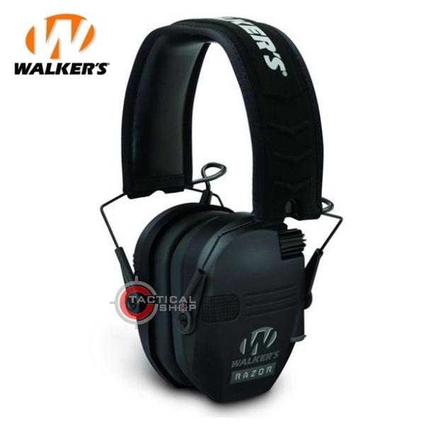 Picture of Ωτοασπίδες Χαμηλού Προφίλ Walkers Razor Slim Electronic Μαύρες