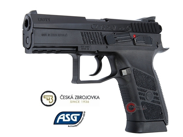 Picture of Αεροβόλο Πιστόλι CZ75 P-07 MS 4.5mm Blowback