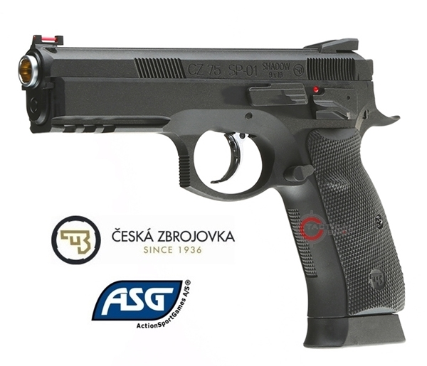 Picture of Αεροβόλο Πιστόλι ASG CZ SP-01 Shadow 4.5mm Blowback