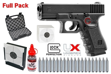Εικόνα της Glock 19 Gen 4 Umarex 4,5mm Co2 Full Pack