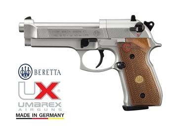 Εικόνα της Αεροβόλο πιστόλι Beretta M 92 FS Nickel Wood